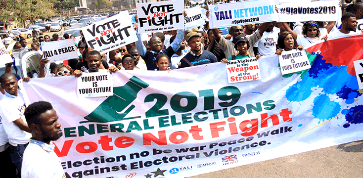 VOTE NOT FIGHT - Youngstars Foundation